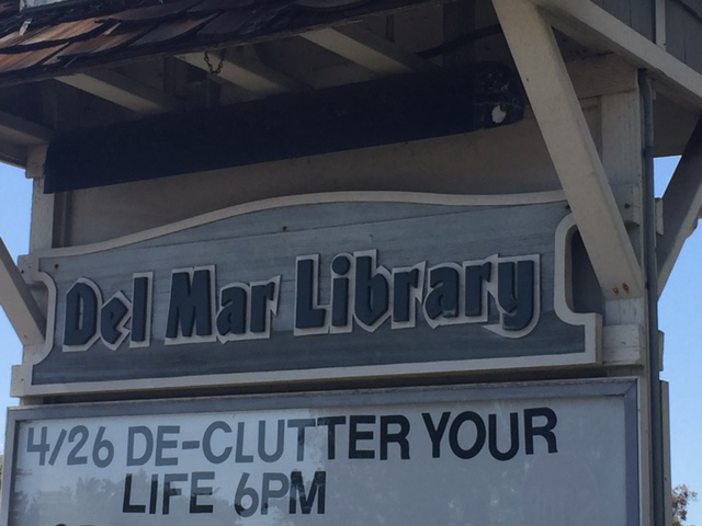Upcoming Event at Del Mar Library