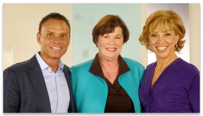 Kevin Harrington, Sue Crum, Forbes Riley